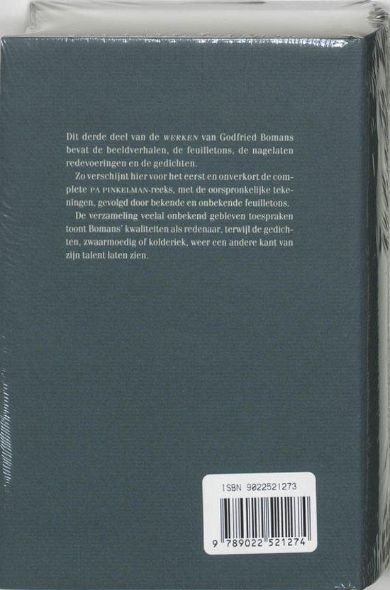 Bolcom Werken Iii G Bomans 9789022521274 Boeken
