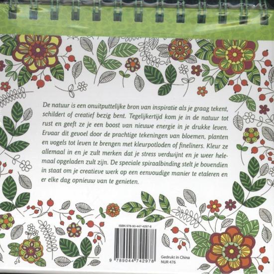 Natuur Kleurplaten Deltas.Bol Com Feel Happy Natuur Kleurplaten 9789044742978 Boeken