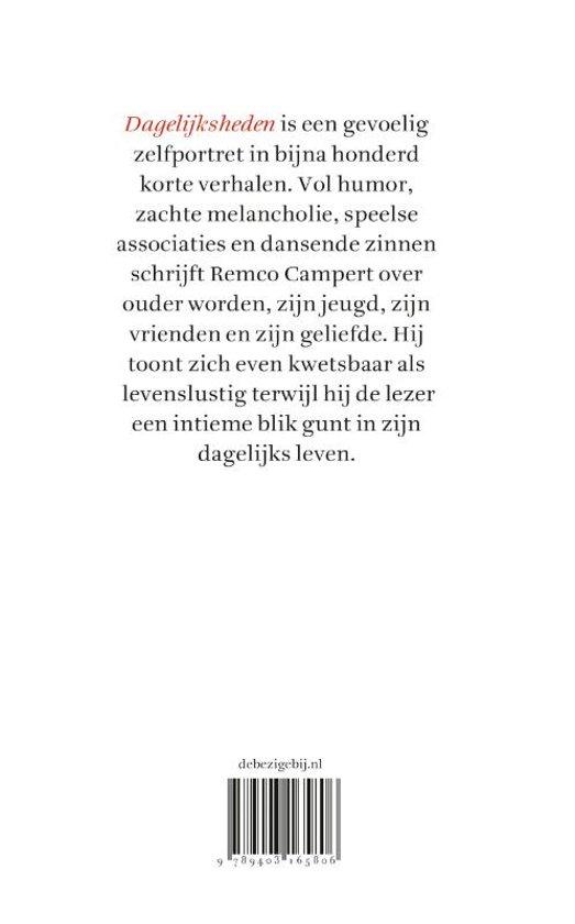 Bolcom Dagelijksheden Remco Campert 9789403165806 Boeken