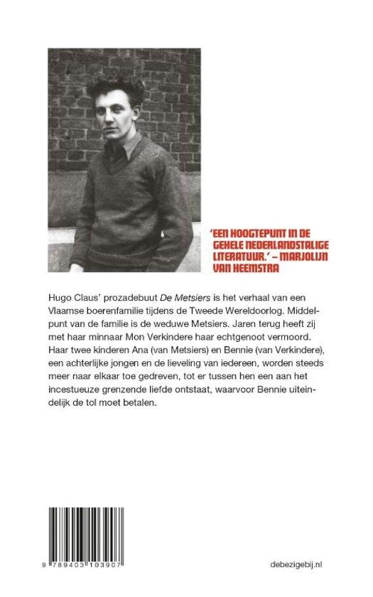 Bolcom De Metsiers Hugo Claus 9789403103907 Boeken