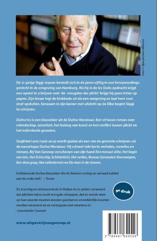 bol.| Duitse les, Siegfried Lenz | 9789461644558 | Boeken