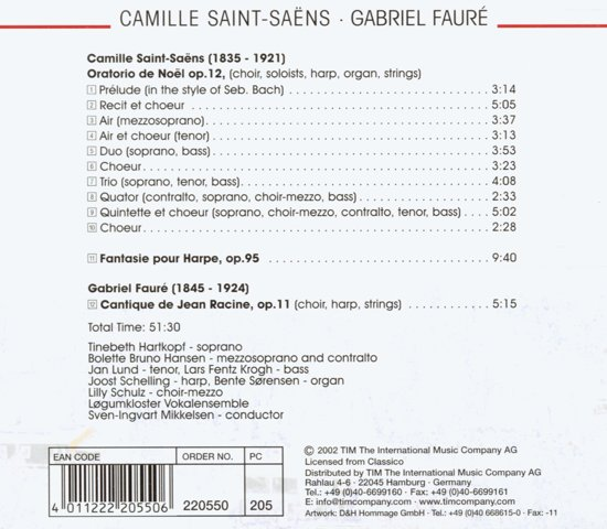 bol.com   Saint-Saens; Faure: Oratorio