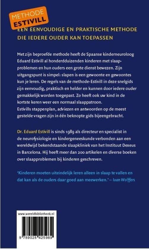 b5cf7ff7680 bol.com | Slaap kindje, slaap, Eduard Estivill | 9789028425989 | Boeken