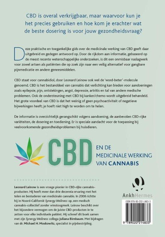 bolcom cbd en de medicinale werking van cannabis leonard leinow 9789020214833 boeken
