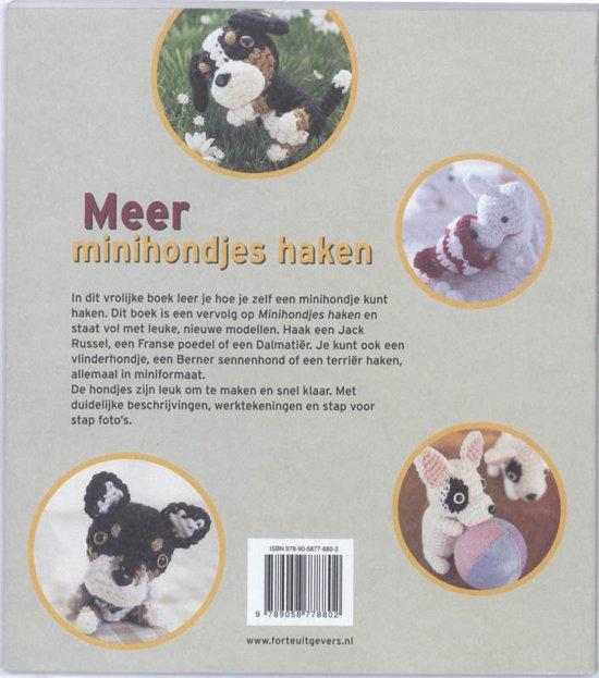 Bolcom Meer Minihondjes Haken Mitsuki Hoshi 9789058778802 Boeken