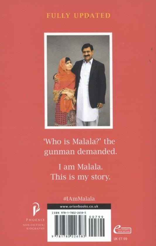 Bol I Am Malala Malala Yousafzai 9781780226583 Boeken