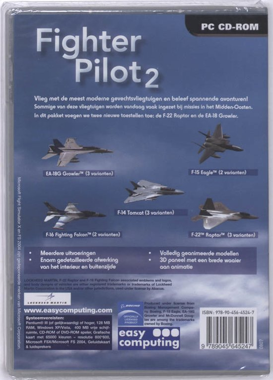 bol com   Flight Simulator X: Fighter Pilot 2   Games