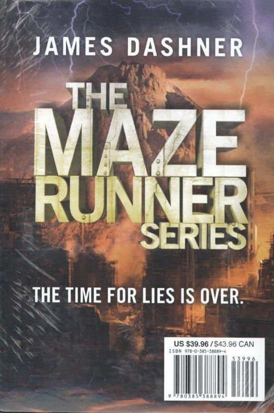 Bol Com The Maze Runner 1 T M 4 Box Set James Dashner