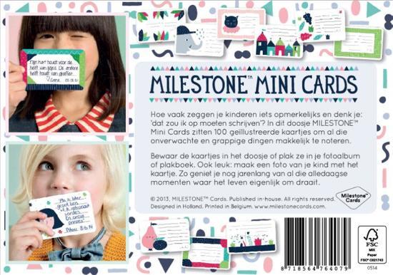 Milestone™ Mini Photo Cards