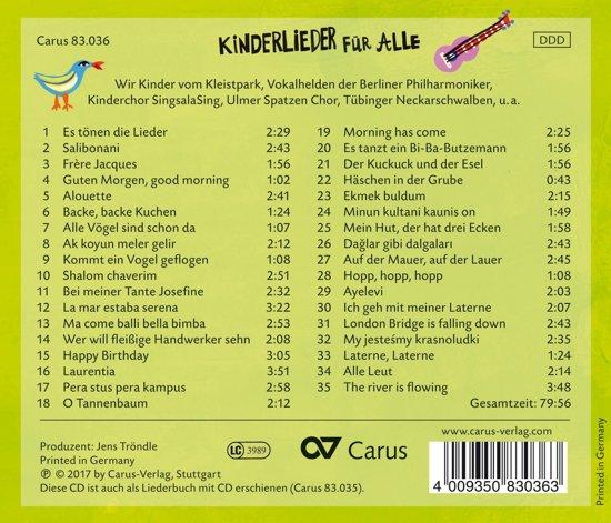Bolcom Kinderlieder Fur Alle Childrens Wir Kinder Vom