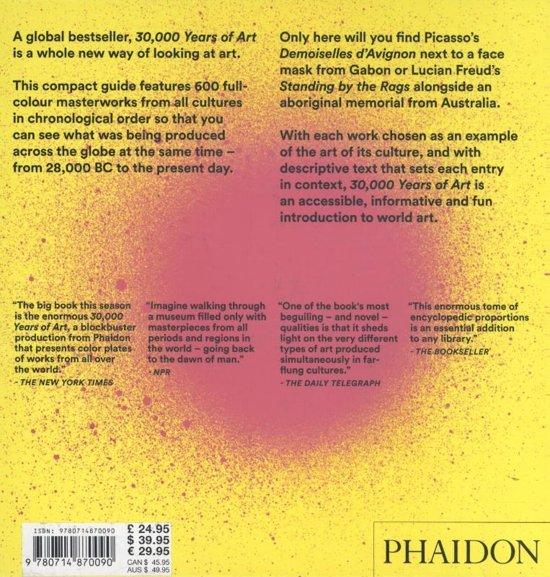 bol com | 30,000 Years of Art, Phaidon Editors