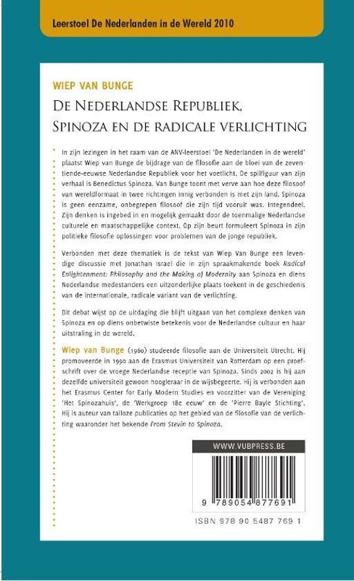 bol.com   De Nederlandse republiek, Spinoza en de radicale ...