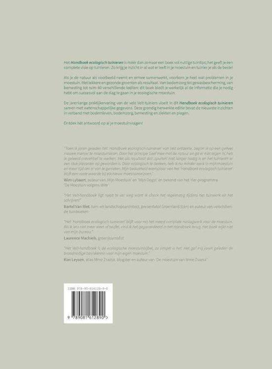 Bolcom Handboek Ecologisch Tuinieren 9789081612890 Geert