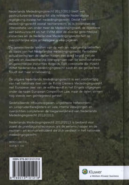 Citaten Weergeven Word : Bol.com nederlands mededingingsrecht 2012 2013 wolters kluwer