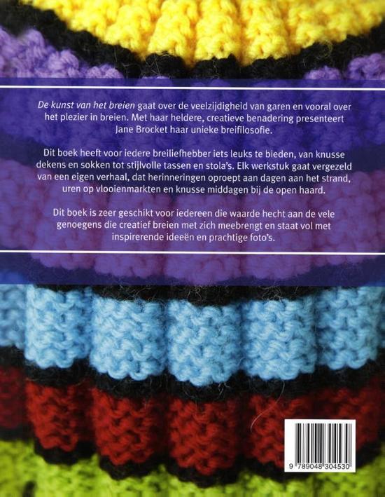 Bolcom De Kunst Van Het Breien Jane Brocket 9789048304530 Boeken