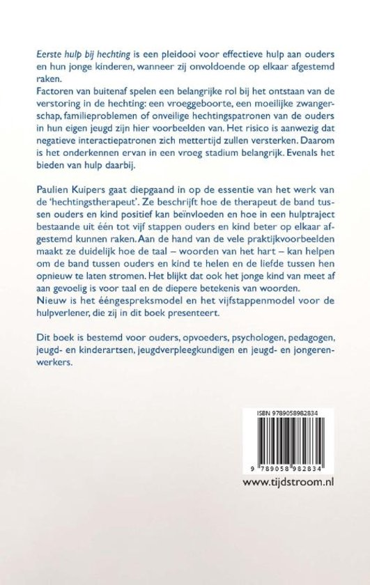 Bolcom Eerste Hulp Bij Hechting 9789058982834 Paulien