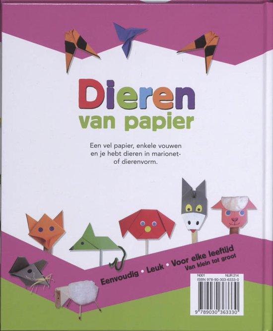 Bolcom Dieren Van Papier Maryse Six 9789030363330 Boeken