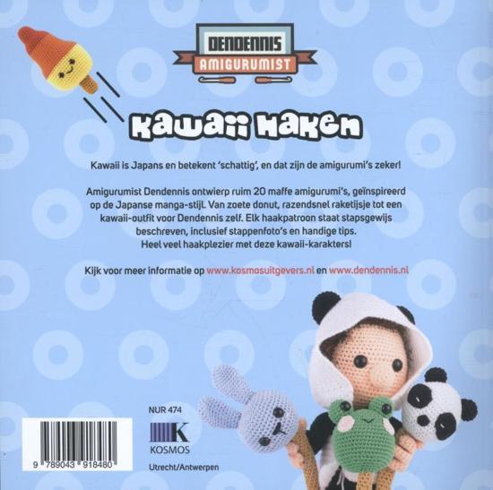 Bolcom Kawaii Haken Dendennis 9789043918480 Boeken