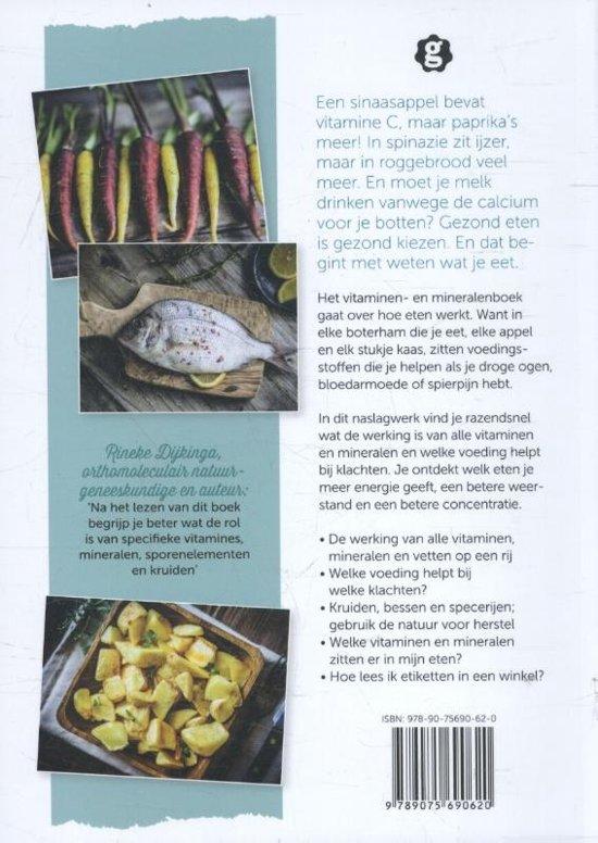 08a1474c560cdb bol.com | Het vitaminen- en mineralenboek, Redactie Gezondnu ...