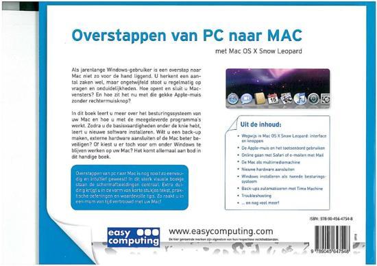 d4d6c664928d3f bol.com | Overstappen van PC naar MAC, Ronald Meeus | 9789045647548 ...