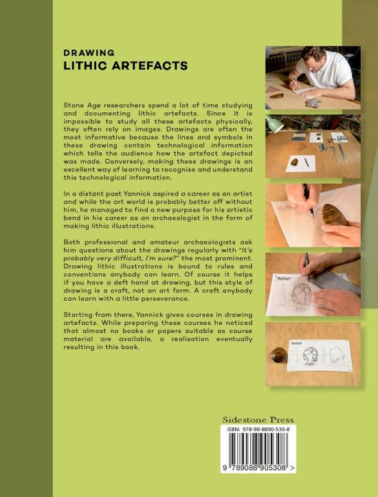 Bol Drawing Lithic Artefacts 9789088905308 Yannick