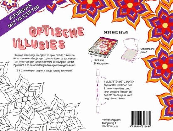 Natuur Kleurplaten Deltas.Bol Com Optische Illusies 9789048313884 Boeken