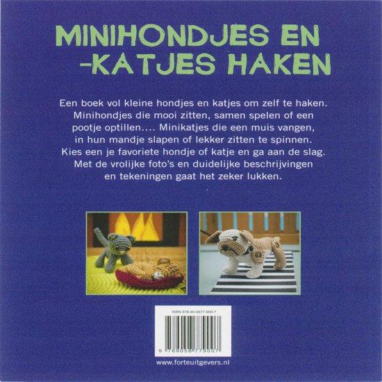 Bolcom Minihondjes En Katjes Haken Marloes Bier 9789058779007