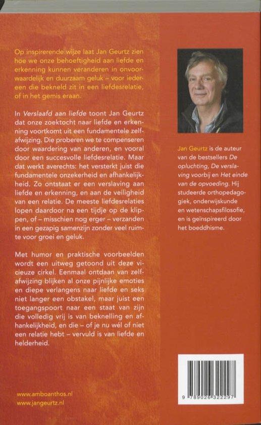 32a635419a3 bol.com | Verslaafd aan liefde, Jan Geurtz | 9789026322297 | Boeken