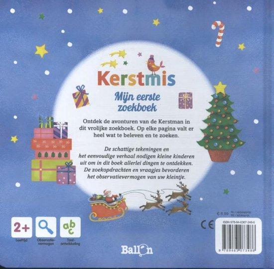 Bol Com Kerstmis 0 Mijn Eerste Zoekboek 9789463073486 Boeken