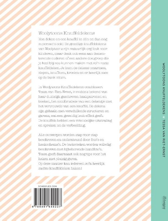 Bolcom Woolytoons Knuffeldekens Tessa Van Riet Ernst