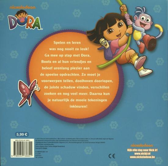 Kleurplaten En Zo Dora.Bol Com Dora Leerrijk Speelboek Onbekend 9789044736601