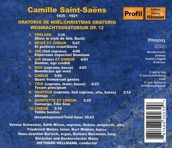Camille Saint-Saens.Oratorio D 1-Cd