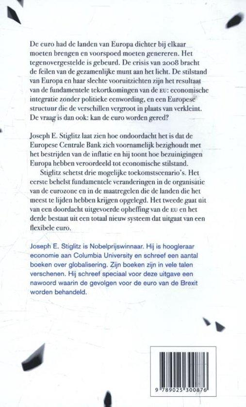 e88aac0d9 bol.com | De euro, Joseph E. Stiglitz | 9789025300876 | Boeken