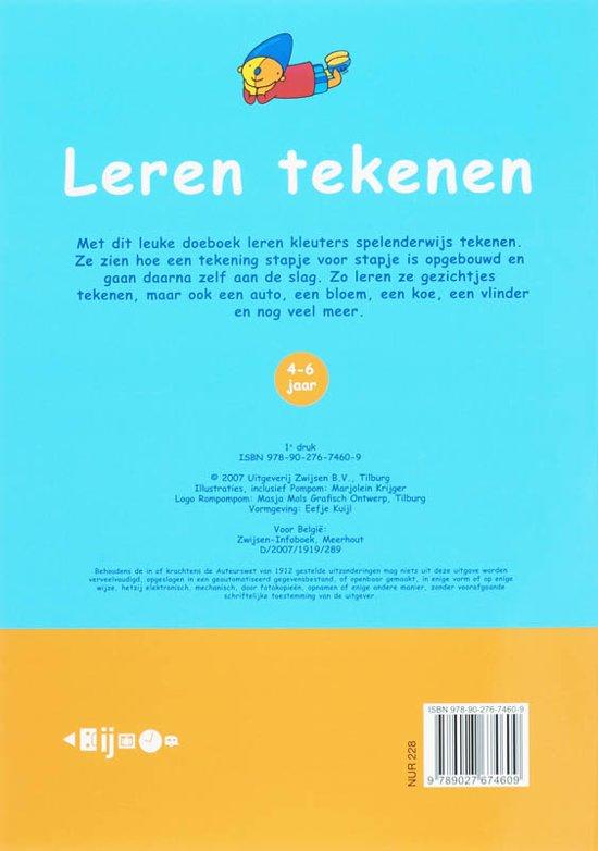Bol Com Leren Tekenen Marjolein Krijger 9789027674609 Boeken