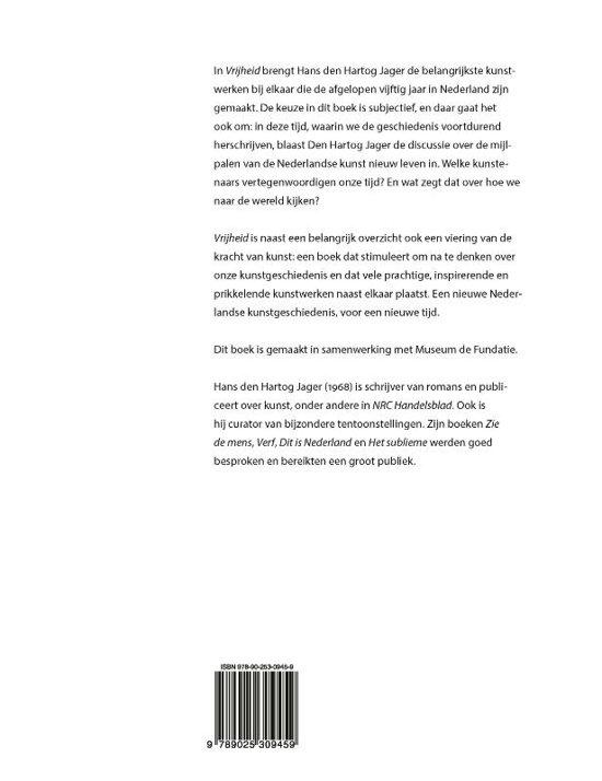 b4ccd12f2cd bol.com | Vrijheid, Hans den Hartog Jager | 9789025309459 | Boeken