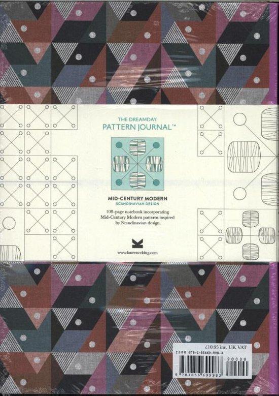 Bolcom The Dreamday Pattern Journal Mid Century Modern