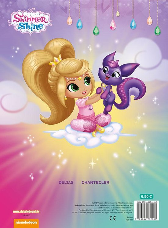 Shimmer and Shine Color