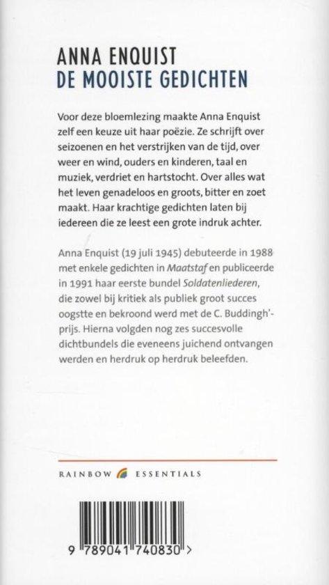 Bolcom De Mooiste Gedichten Anna Enquist 9789041740830