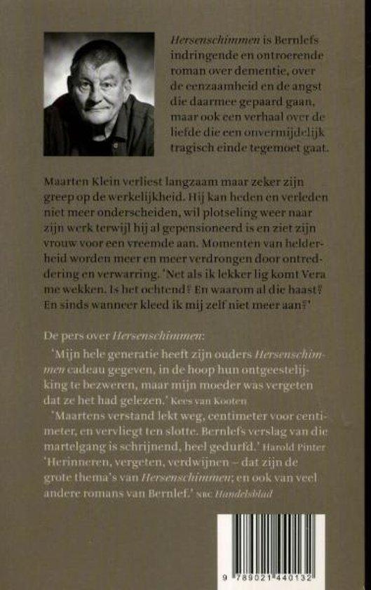 Bolcom Hersenschimmen J Bernlef 9789021440132 Boeken