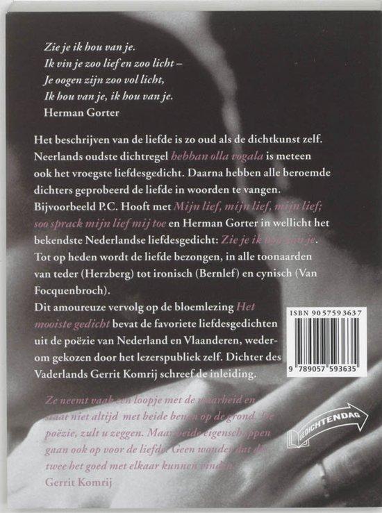 Bolcom Het Liefste Gedicht Remco Meijer 9789057593635
