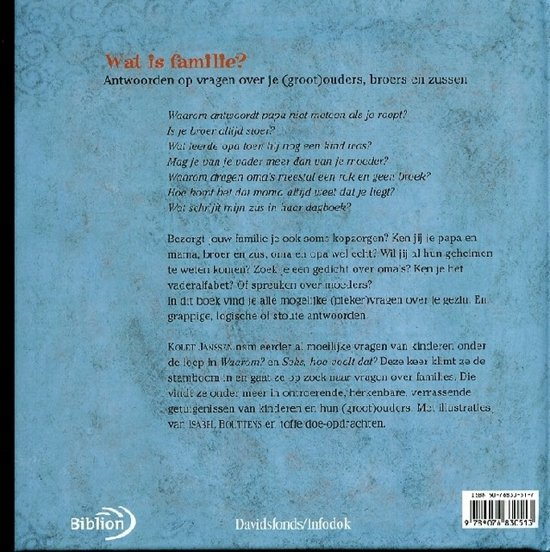 Bolcom Wat Is Familie K Janssen 9789076830513 Boeken