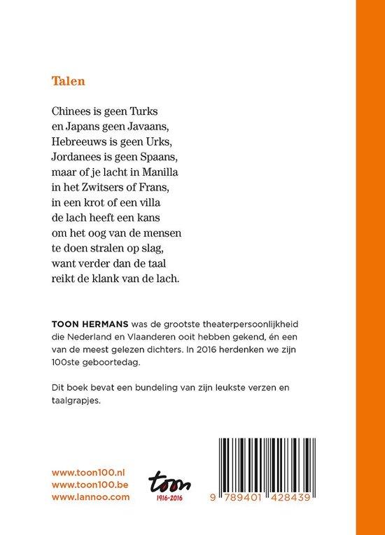 Uitzonderlijk bol.com | De klank van de lach, Toon Hermans | 9789401428439 | Boeken #NK19