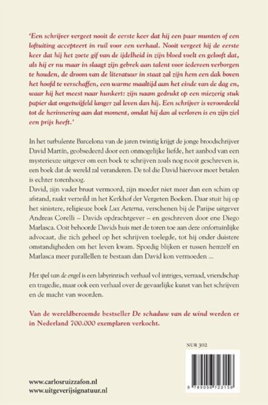 bol.com | Het spel van de engel, Carlos Ruiz Zafon