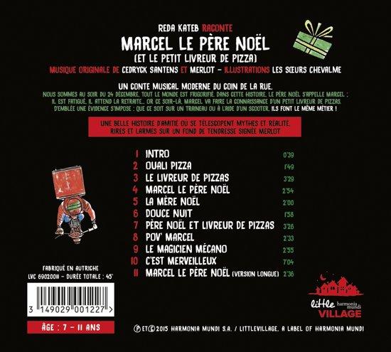 Bolcom Marcel Le Pere Noel Merlot Cd Album Muziek
