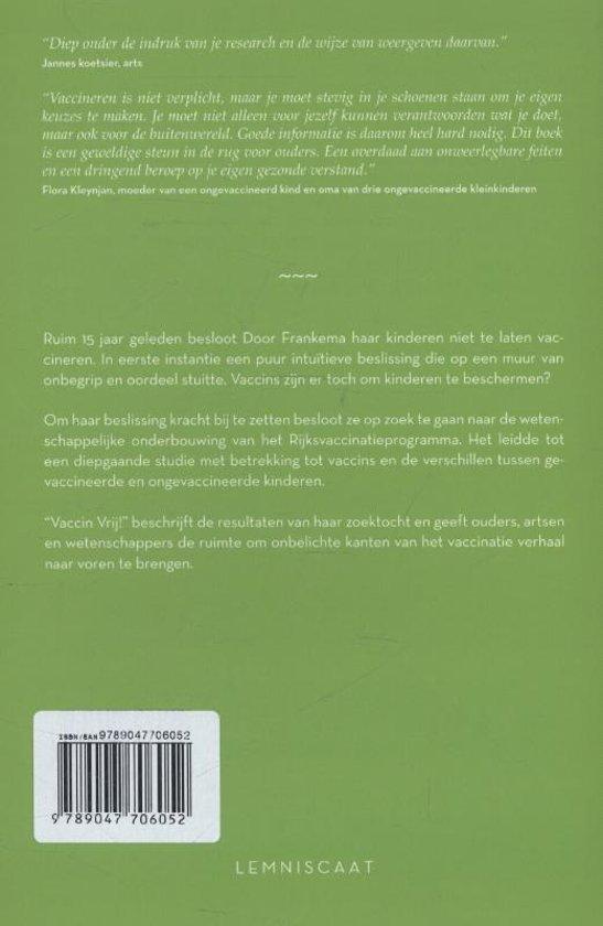 Citaten Over Oordelen : Bol.com vaccin vrij! door frankema 9789047706052 boeken
