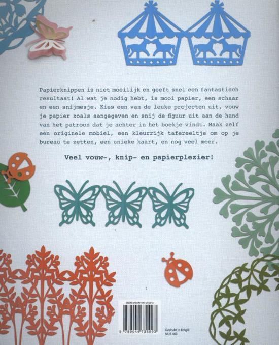 Vaak bol.com | Creatief papier knippen, Akiko Murooka | 9789044735093 &PY33