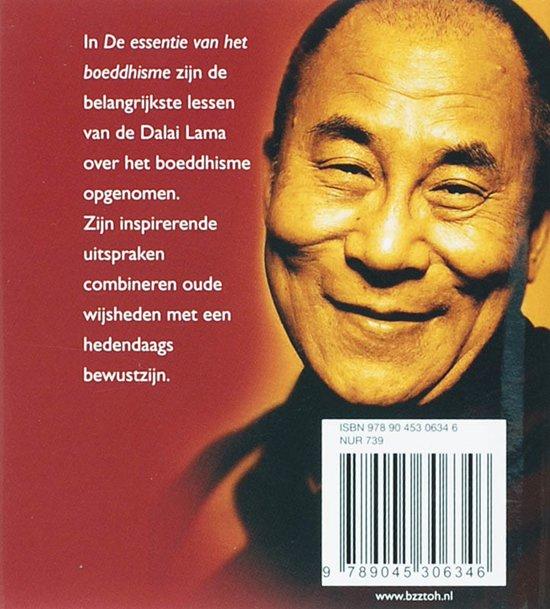 Bolcom De Essentie Van Het Boeddhisme Zh De Dalai Lama