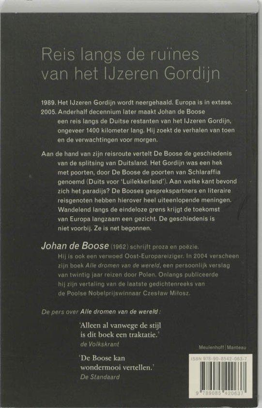 bol.com | De grensganger, Johan de Boose | 9789085420637 | Boeken