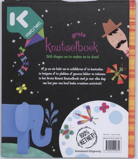 Uitzonderlijk bol.com   Het Grote Ketnet Knutselboek, F. Watt   9789002229879 #RR16