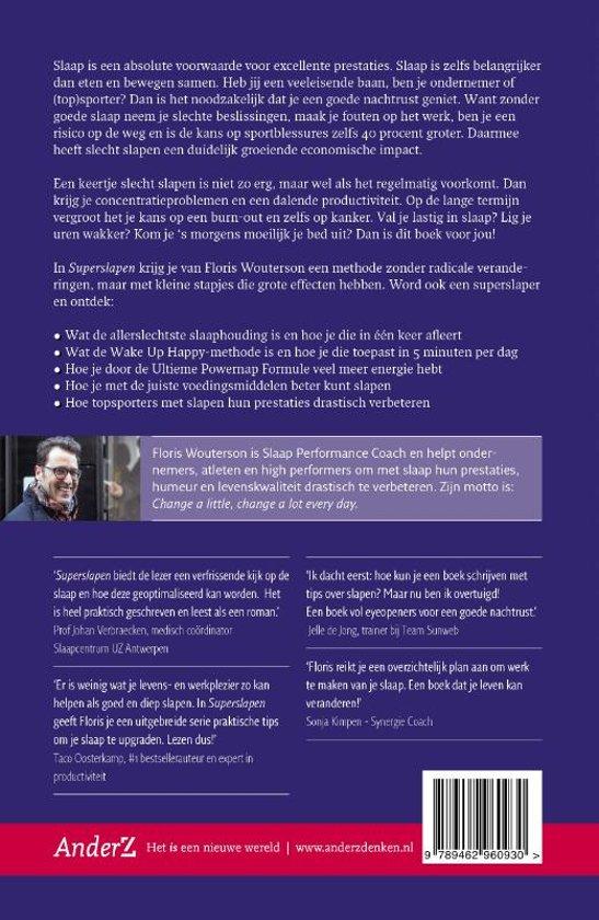 4950994c284 bol.com   Superslapen, Floris Wouterson   9789462960930   Boeken